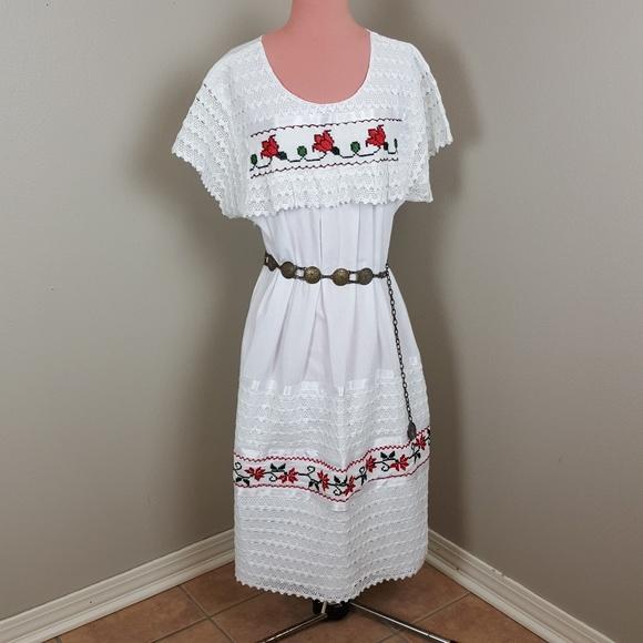 AUTHENTIC VINTAGE Dresses   Vintage Mexican Wedding Dress ...